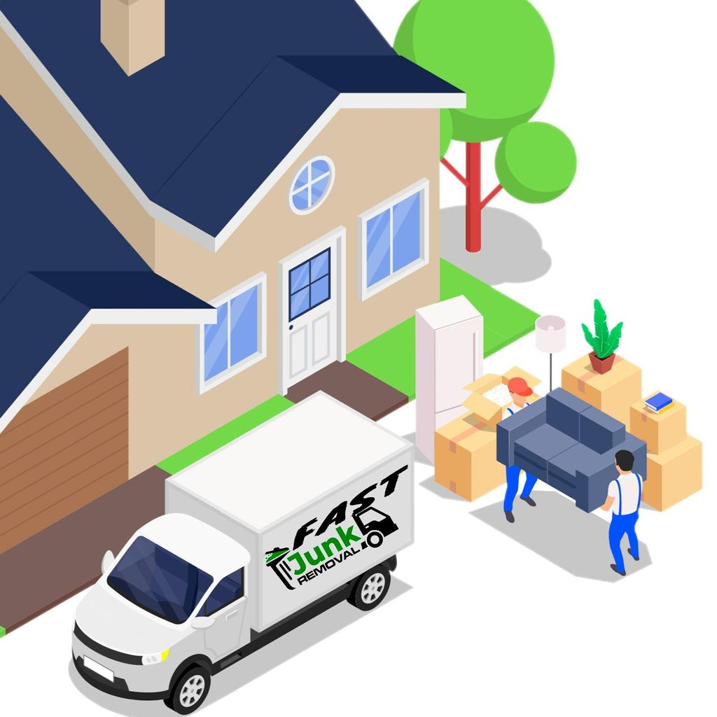 Fast  Junk Removal and Furniture moving