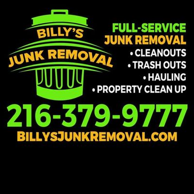 Avatar for Billy's junk removal