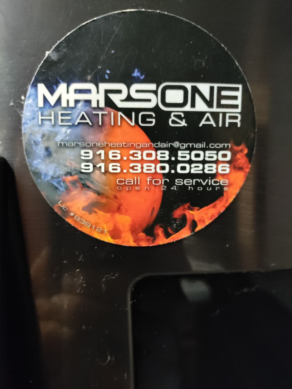 MARS ONE HEATING AND AIR CONDITIONING