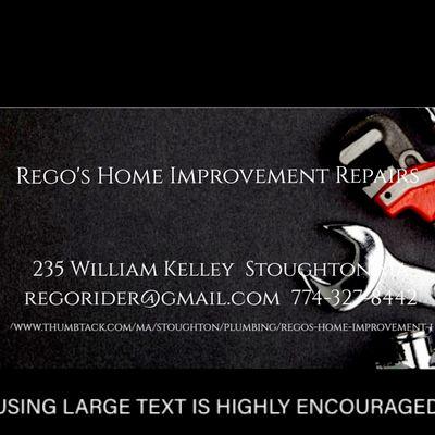 Avatar for Rego's home improvement repairs