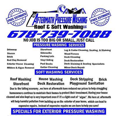 Avatar for Aftermath pressure washing roof&soft washingLLC