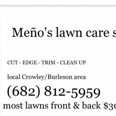 Avatar for Meño's A1 Lawn Care