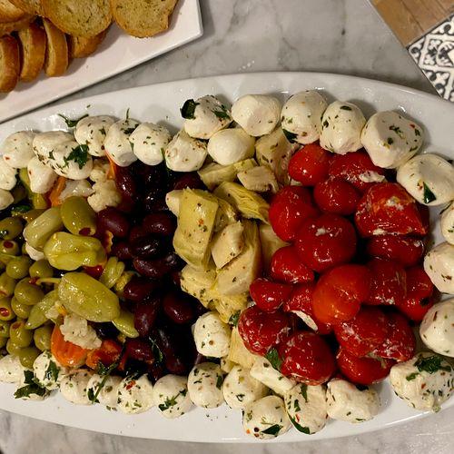 Anti pasta platter
