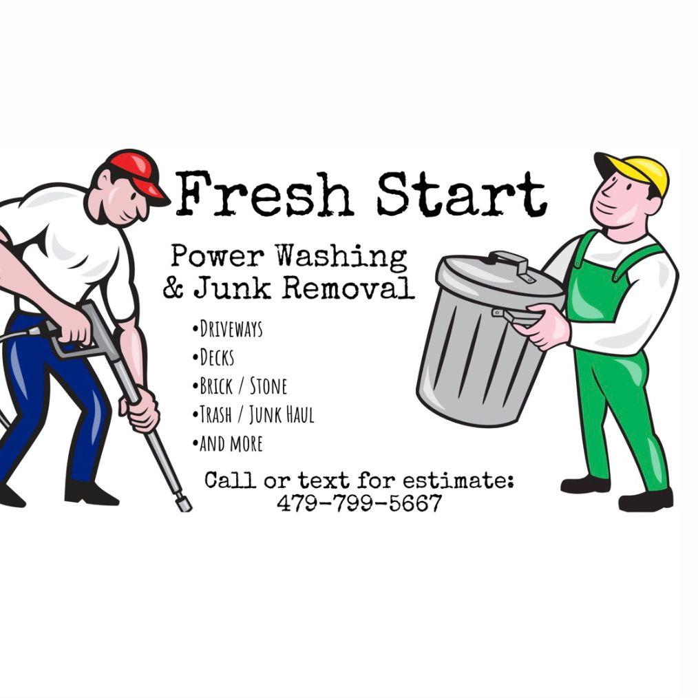 Fresh Start Power Washing & Junk Removal