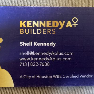 Avatar for Kennedy A + Builders