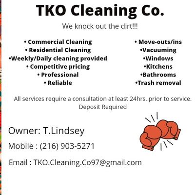 Avatar for TKo Cleaning Co.