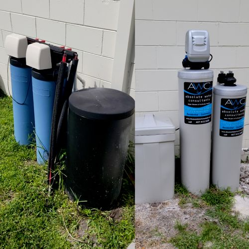 Old vs New - Less maintenance, Less Salt/Water Usage, Most Importantly Better Water