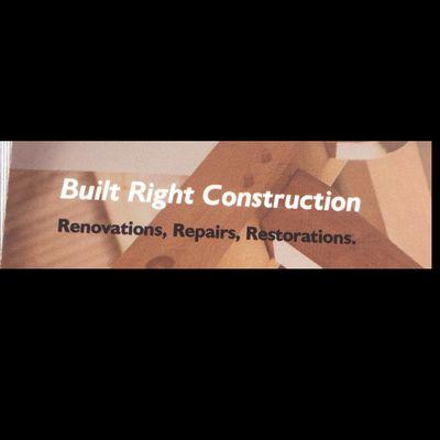 Avatar for Built Right Construction
