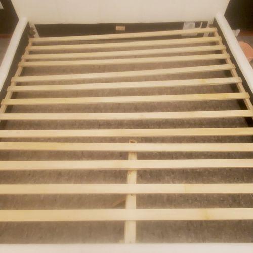 after.  bed wood support broken