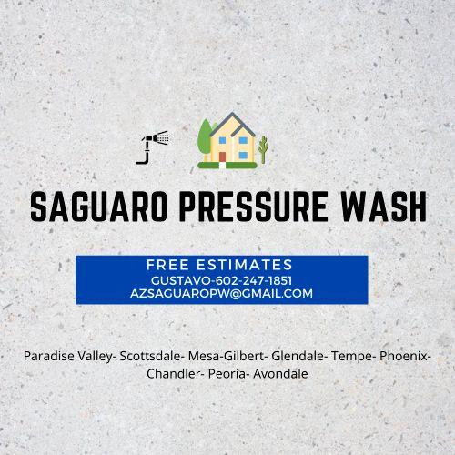 Saguaro Pressure wash