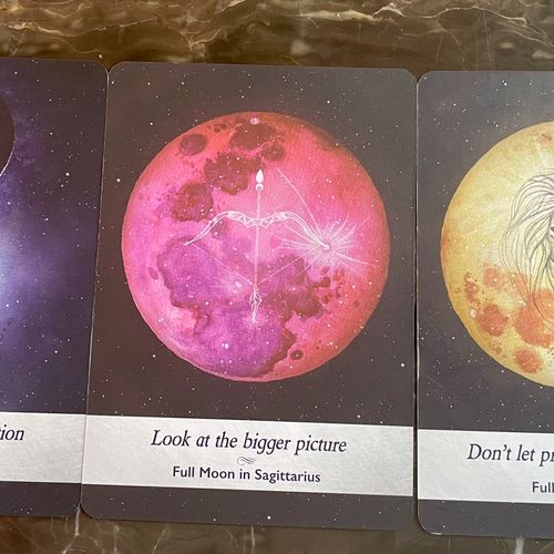 Today's Moonology Cards - Full Moon Energy Guaranteed! 10-18-21