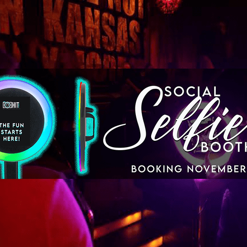 New Social Selfie Roaming Booth! Digital Photobooth!