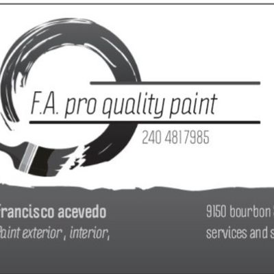Avatar for F.A  Pro Quality Paint