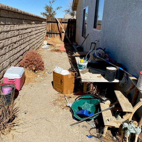 Junk removal in Palmdale Ca